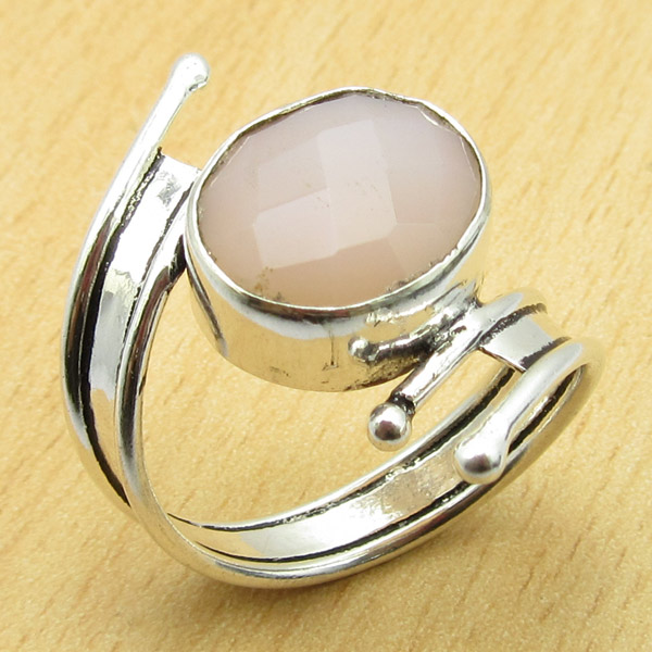 size us 8 1 4 ring quartz high end gem tibetan
