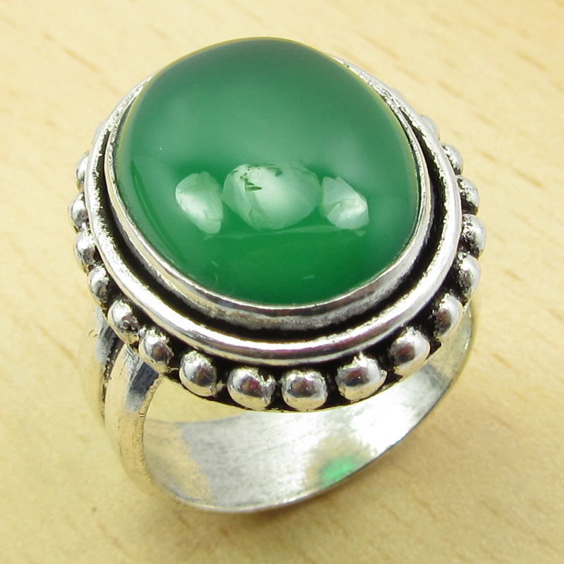 size o ring green onyx original exquisite silver