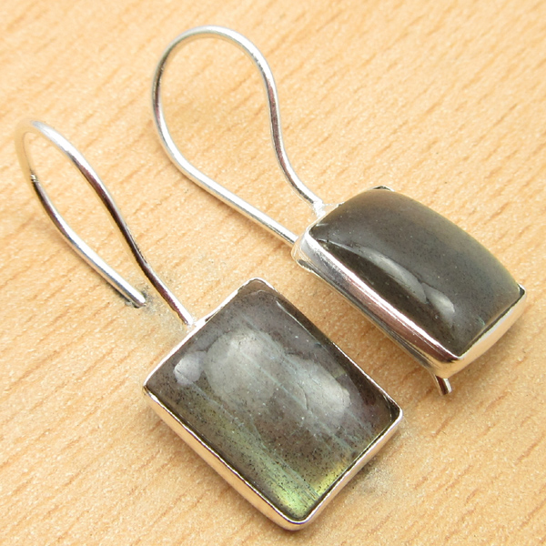 925-Silver-Plated-BLUE-FIRE-LABRADORITE-amp-Other-Gemstone-DELICATE-Earrings thumbnail 6