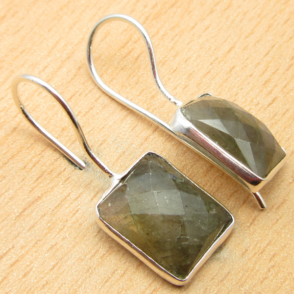 925-Silver-Plated-BLUE-FIRE-LABRADORITE-amp-Other-Gemstone-DELICATE-Earrings thumbnail 7