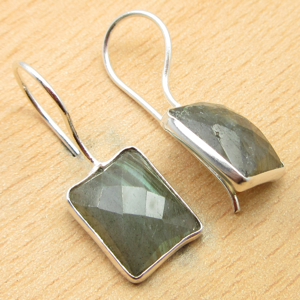 925-Silver-Plated-BLUE-FIRE-LABRADORITE-amp-Other-Gemstone-DELICATE-Earrings thumbnail 9