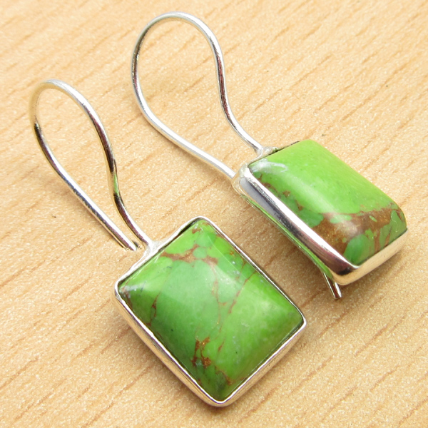 925-Silver-Plated-BLUE-FIRE-LABRADORITE-amp-Other-Gemstone-DELICATE-Earrings thumbnail 3