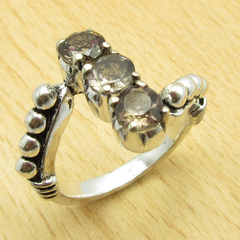 MANY-SIZES-MANY-STONE-925-Silver-Plated-IOLITE-amp-Other-Gem-Claw-Setting-RING thumbnail 2
