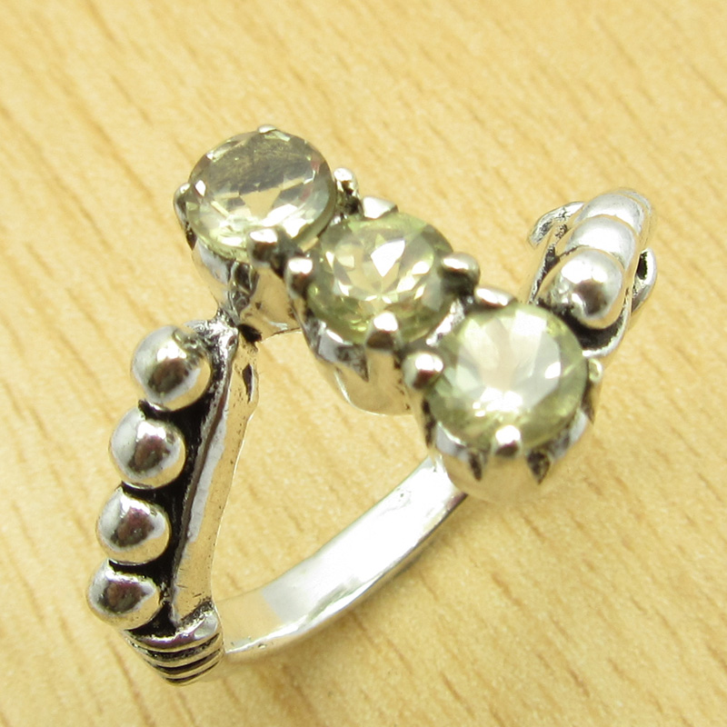 MANY-SIZES-MANY-STONE-925-Silver-Plated-IOLITE-amp-Other-Gem-Claw-Setting-RING thumbnail 11