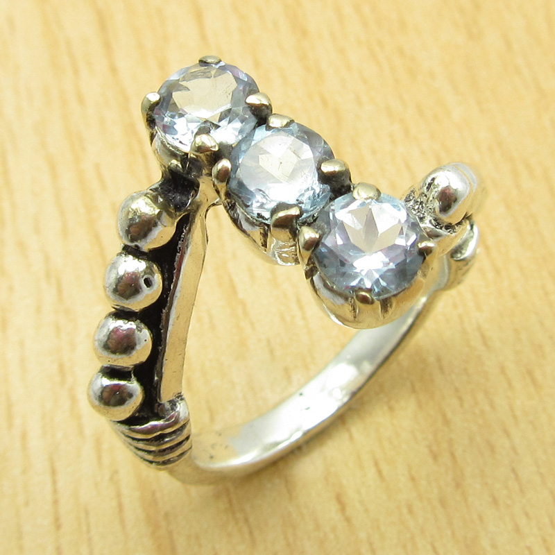 MANY-SIZES-MANY-STONE-925-Silver-Plated-IOLITE-amp-Other-Gem-Claw-Setting-RING thumbnail 4