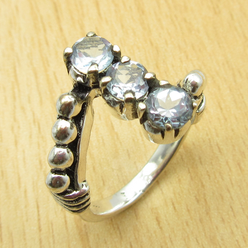 MANY-SIZES-MANY-STONE-925-Silver-Plated-IOLITE-amp-Other-Gem-Claw-Setting-RING thumbnail 9