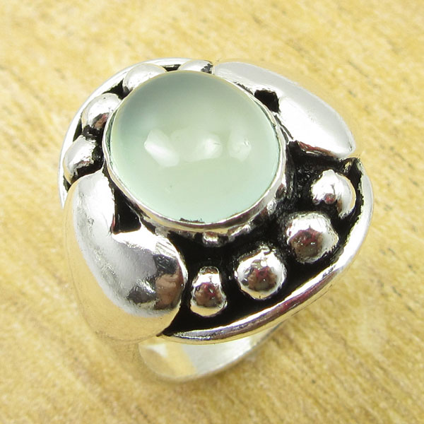 925-Silver-Plated-TURQUOISE-amp-Other-Stone-WELL-MADE-Ring-Size-Variation-To-Pick thumbnail 12