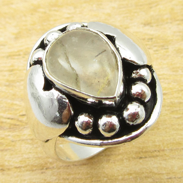 925-Silver-Plated-TURQUOISE-amp-Other-Stone-WELL-MADE-Ring-Size-Variation-To-Pick thumbnail 54