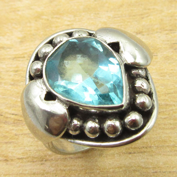 925-Silver-Plated-TURQUOISE-amp-Other-Stone-WELL-MADE-Ring-Size-Variation-To-Pick thumbnail 46