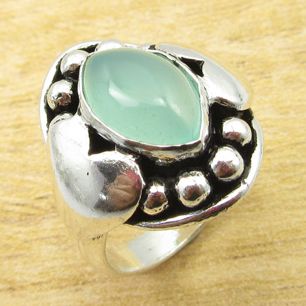 925-Silver-Plated-TURQUOISE-amp-Other-Stone-WELL-MADE-Ring-Size-Variation-To-Pick thumbnail 37