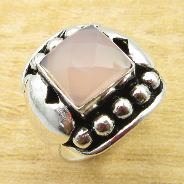 925-Silver-Plated-TURQUOISE-amp-Other-Stone-WELL-MADE-Ring-Size-Variation-To-Pick thumbnail 34