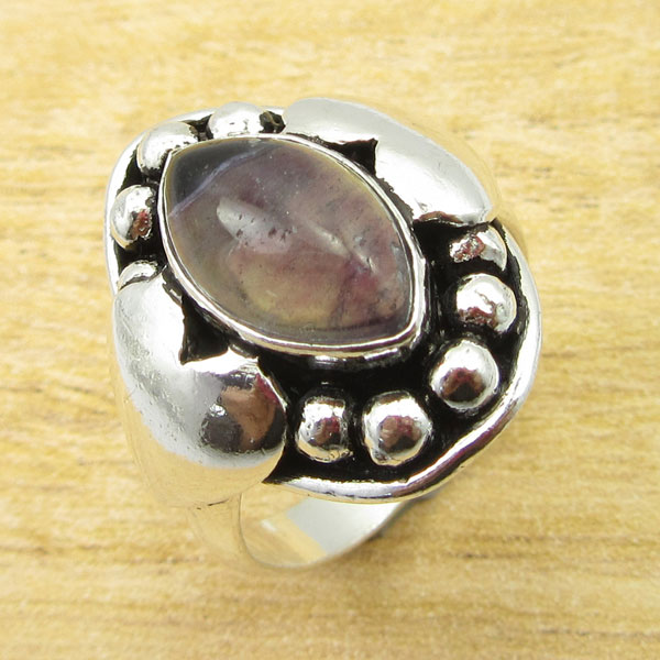 925-Silver-Plated-TURQUOISE-amp-Other-Stone-WELL-MADE-Ring-Size-Variation-To-Pick thumbnail 68