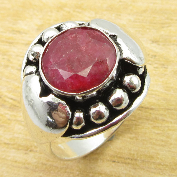 925-Silver-Plated-TURQUOISE-amp-Other-Stone-WELL-MADE-Ring-Size-Variation-To-Pick thumbnail 83