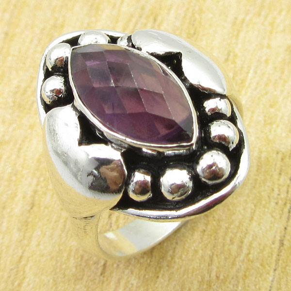 925-Silver-Plated-TURQUOISE-amp-Other-Stone-WELL-MADE-Ring-Size-Variation-To-Pick thumbnail 81