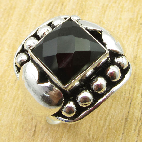 925-Silver-Plated-TURQUOISE-amp-Other-Stone-WELL-MADE-Ring-Size-Variation-To-Pick thumbnail 20