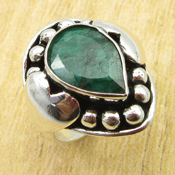 925-Silver-Plated-TURQUOISE-amp-Other-Stone-WELL-MADE-Ring-Size-Variation-To-Pick thumbnail 10